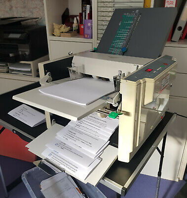 USED Superfax Automatic A3 A4 A5 Paper Leaflet Letter Folder Folding Machine