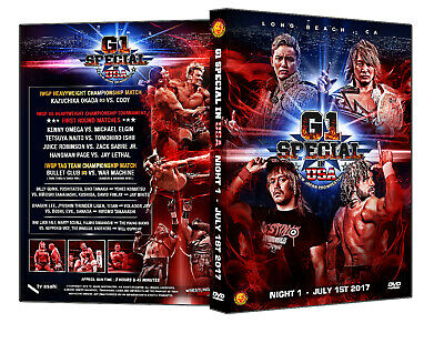 Official NJPW New Japan Pro Wrestling : G1 Special in USA 2017 - Night 1 DVD