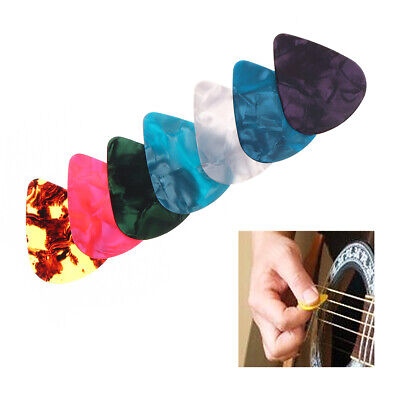 Guitar Picks Plectrum Plucked Acoustic Electric Plectrums Assorted Colorful