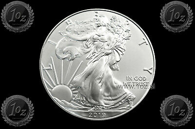 US / USA $1 DOLLAR 2019 ( SILVER EAGLE ) 1oz SILVER coin (Ag 999/1000) UNC * NEW