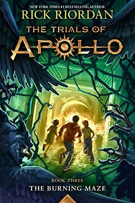 The Trials of Apollo Book Three The Burning Maze by Rick Riordan (eBooks, 2018)