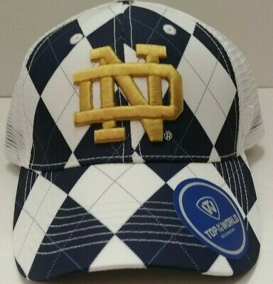 Notre Dame Fighting Irish  Adjustable Fit Hat From Top of the World - Go Irish