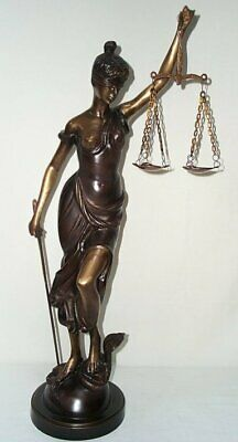 G260: Large Bronze Figure,Bronze Justice,Goddess of the Justice 90 Cm