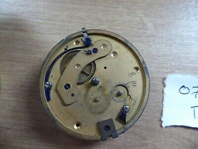 Quality Gents  Antique Fusee  Pocket Watch Movement