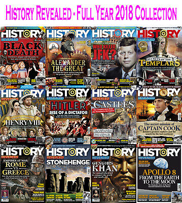 History Revealed - Full Year 2018 Collection - Digital PDF