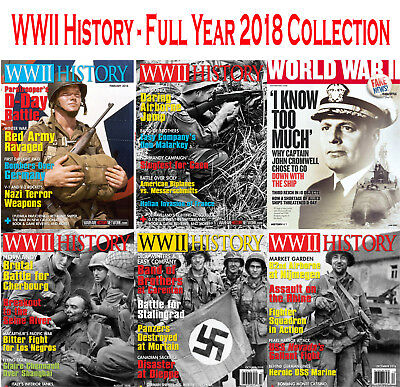 WWII History - Full Year 2018 Collection - Digital PDF