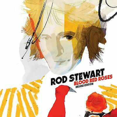 Rod Stewart, Blood red roses deluxe CD. Free delivery