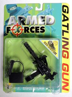 ESZ9599. Armed Forces Highly Detailed GATTLING GUN Accessory From Intoyz (2000)