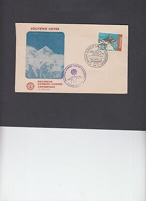 Nepal 1972 German Everest Lhotse Expedition cover