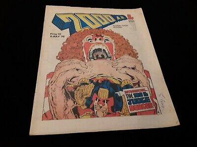 2000ad Prog 72 from 1978. Banned issue.