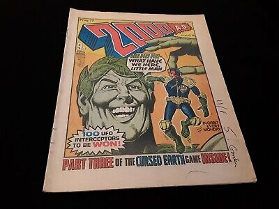 2000ad Prog 78 from 1978. Banned issue.