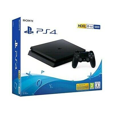 Sony Ps4 500Gb Hdr F Chassis Slim Black