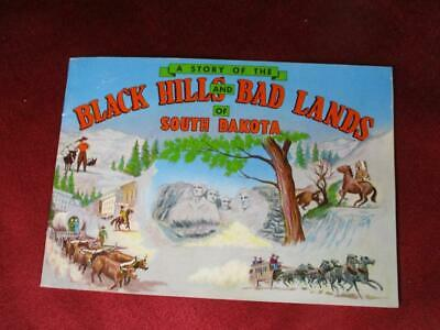 1950 Story of the Black Hills and Bad Lands of South Dakota color souvenir book
