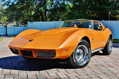 1973 Chevrolet Corvette T-Top, 68k Actual Miles, Numbers Matching 454, 4 S Beautiful 1973 Chevrolet Corvette with 68,000 Actual Miles, 454, 4 speed
