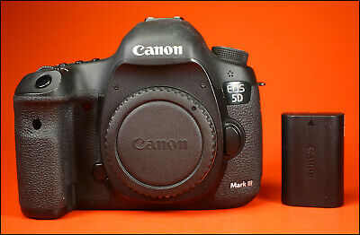 Canon EOS 5D III  Digital SLR Camera, Sold With Battery,