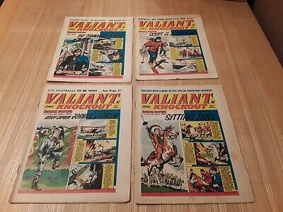 4 x 1963 Valiant Comics. Job lot.