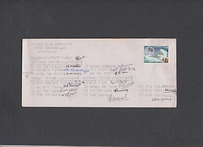 Nepal 1986 Royal Nepalese Army Tukuche Himal Expedition multi signed cover