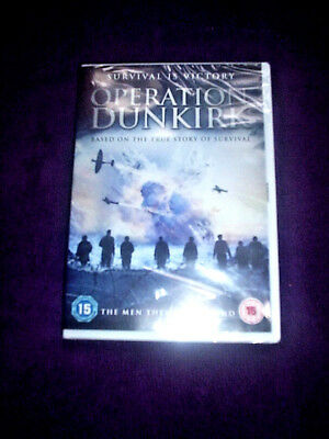 operation dunkirk dvd new and sealed free posrage