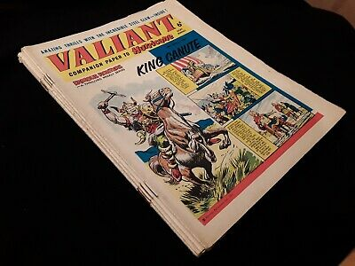 7 x 1964 Valiant Comics. Job lot.