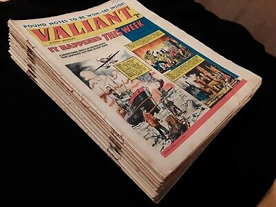 21 x 1966 Valiant Comics. Job lot.