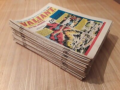 34 x 1965 Valiant Comics. Job lot.