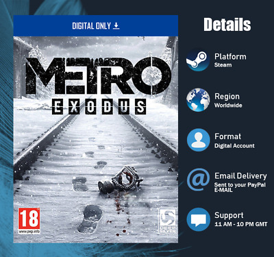 Metro Exodus [Action PC Game] 2019