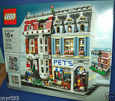 LEGO Creator 10218 PET SHOP town modular houses new and sealed expert NIB