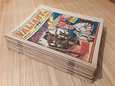 21 x 1973 Valiant Comics. Job lot. Valiant and TV21 and Smash
