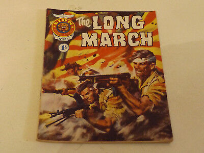 LION PICTURE LIBRARY,NO 127,1969 ISSUE,V GOOD FOR AGE,50 yrs old,VERY RARE COMIC