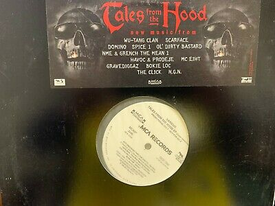 Tales From The Hood Clean Versions Lp 1995 Mca Mca8P 3445 Dj Copy Red Label
