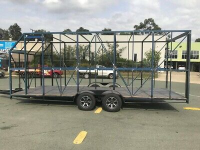 enclosed car trailer project