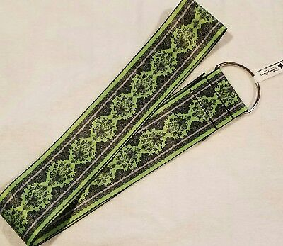 """Disney Parks Exclusive Haunted Mansion 2"""" Wide Lanyard - pin trading"""