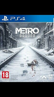 Metro exodus ps4 (no cd leer descripcion )