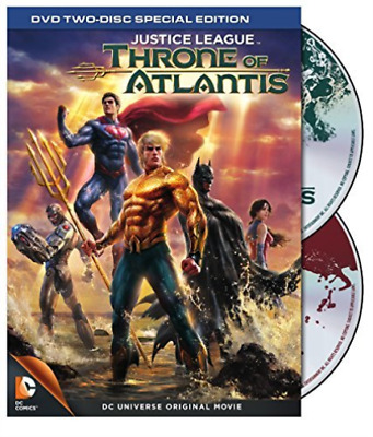 Justice League: Throne Of A...-Justice League: Throne Of Atlantis (2Pc)  Dvd New
