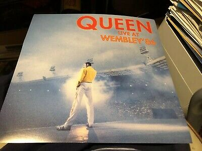 Queen Live At Wembley Rare Usa Official Promo Flat