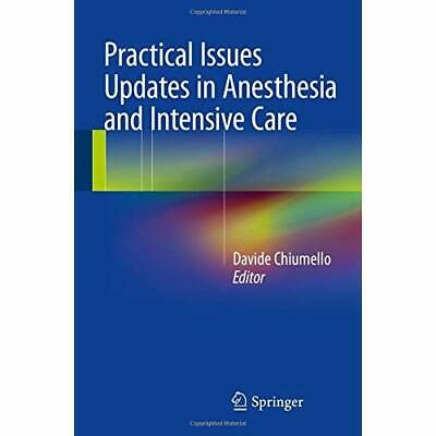 practical issues in anesthesia and intensive care allaria biagio