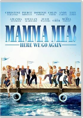 Brand New Sealed MAMMA MIA Here We GO Again DVD 2018 Free Post