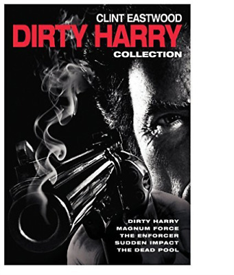 `eastwood,clint`-5 Film Collection:dirty Harry Dvd New