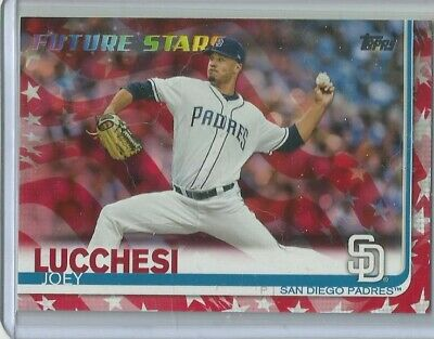 2019 Topps Series 1 Joey Lucchesi Future Stars Independence Day 72/76