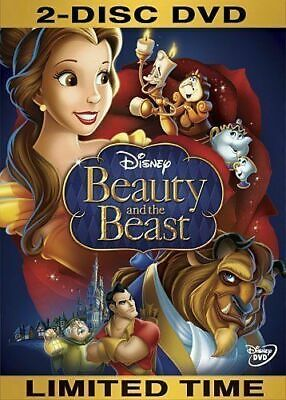 Beauty and the Beast (DVD, 2010, 2 Disc, Diamond Edition)NEW