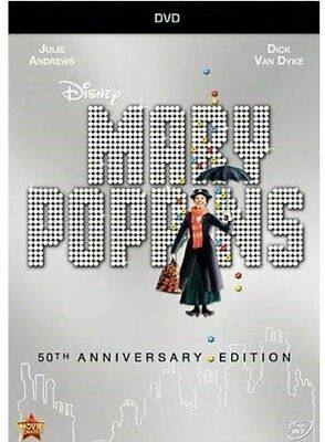 Mary Poppins (50th Anniversary) (New DVD) Anniversary Edition