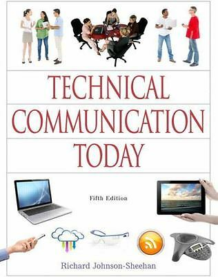 [PDF] Technical Communication Today 5th Edition by Richard Johnson-Sheehan