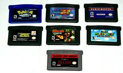 Gameboy Advance Game Lot Of 7 Games