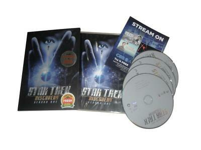 Star Trek - Discovery: The First Season one 1 (Brand New, DVD, 4-Disc Set)