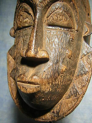 Art Africain Masque Baoule Statue Africaine African Mask Tribal Ancien Afrique