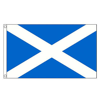 Scotland Flag 5ft x 3ft Scottish Saltire St Andrews Cross 5 x 3 FT/90*150cm