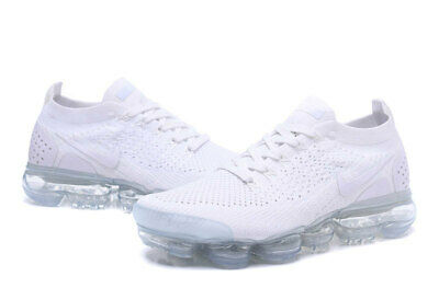 NIKE AIR VaporMax Flyknit 2.0 2018  MEN (White) Running Trainers Shoes