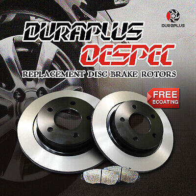 Fit 1999-2002 Toyota Corolla Duraplus Premium Coated Brake Drums Shoes Rear