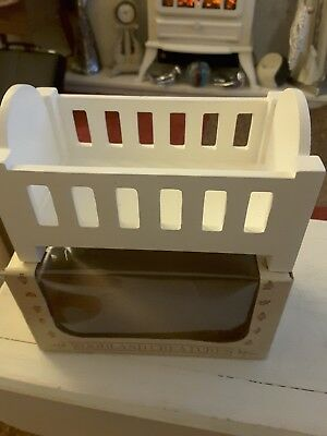 Dolls house furniture Baby's Cot