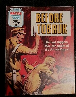 Battle  Picture  Library    No  1584  Before  Tobruk